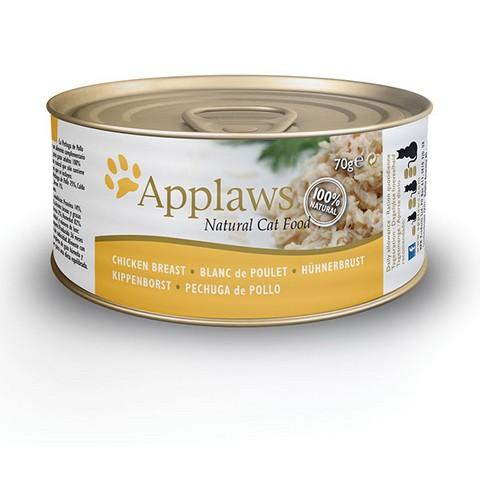 Applaws Cat konzerva kuřecí prsa 70g