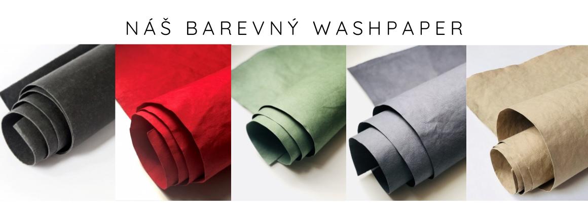 Pratelný papír má mnoho podob a barev