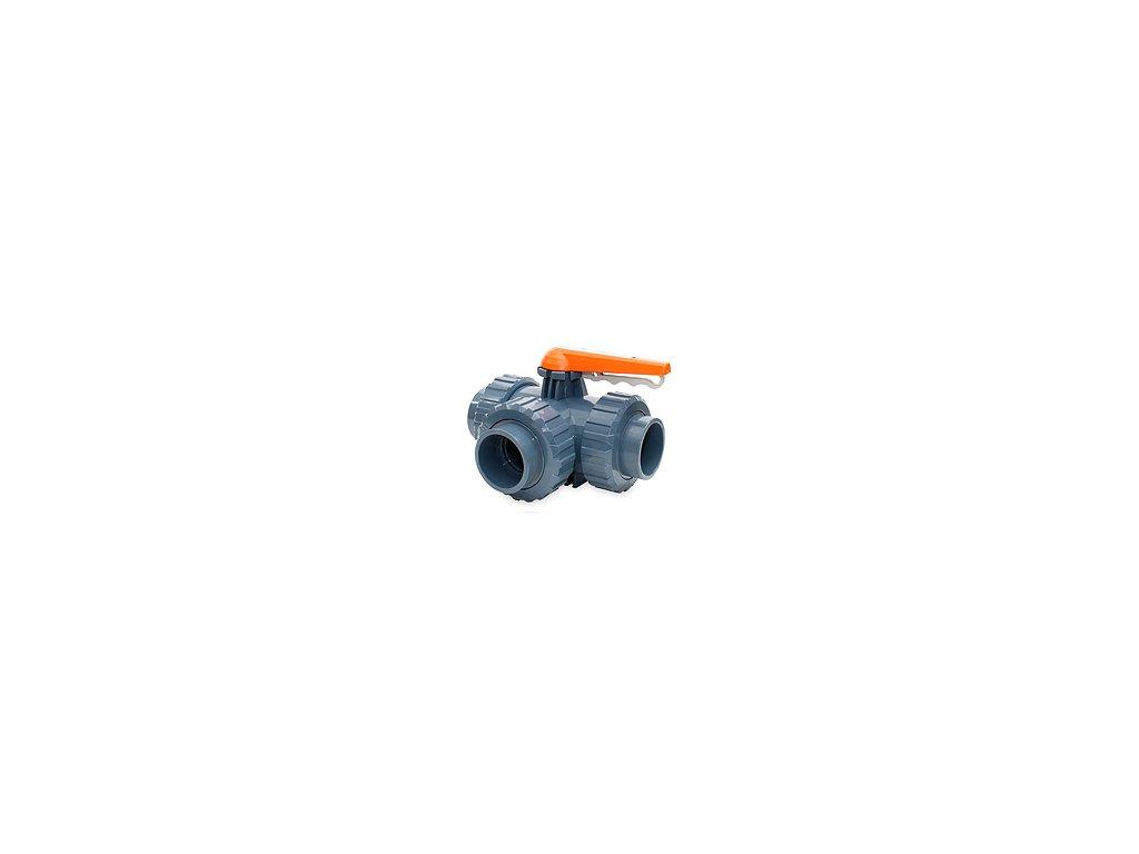 3-cestný guľový ventil VDL