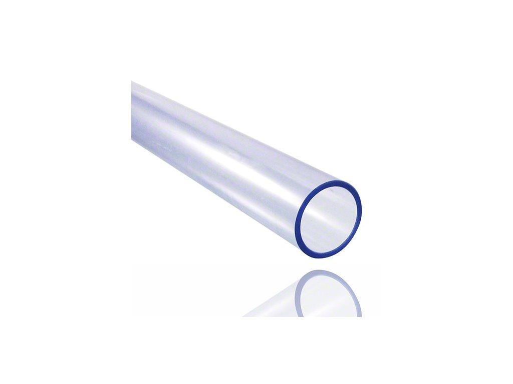 Tlaková rúra PVC transparentná