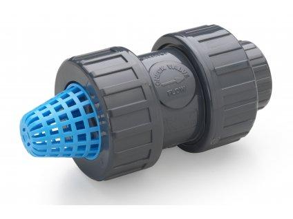 Spätný ventil s košom Plimat