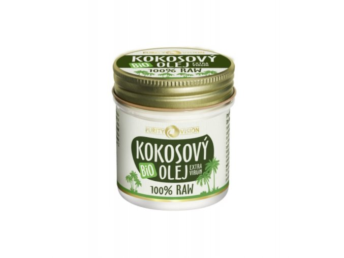 Purity Vision Raw Bio  Kokosový olej 120 ml