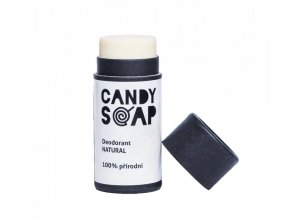 Candy soap tuhý deodorant Natural