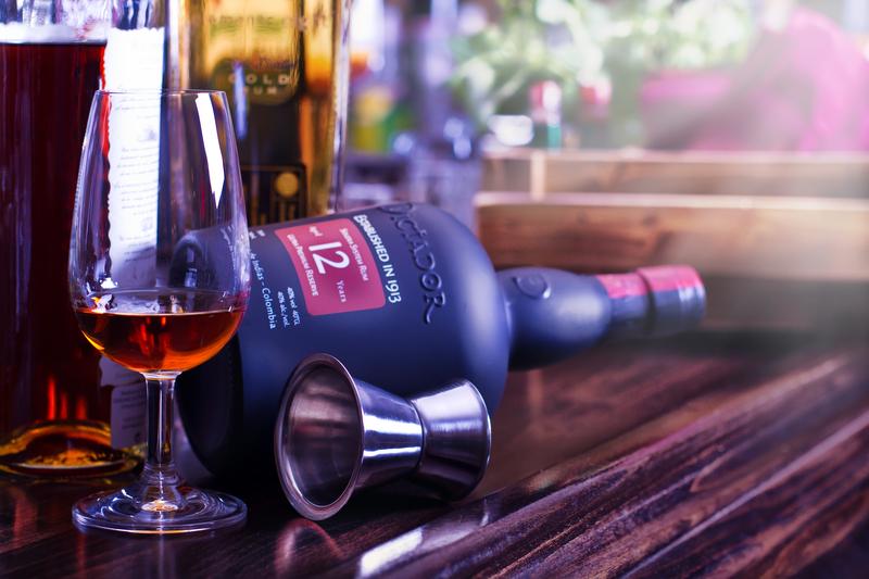 Darčeková debna s rumom