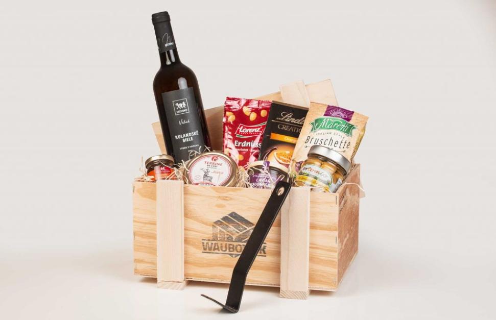 Darčeková debna s vínom