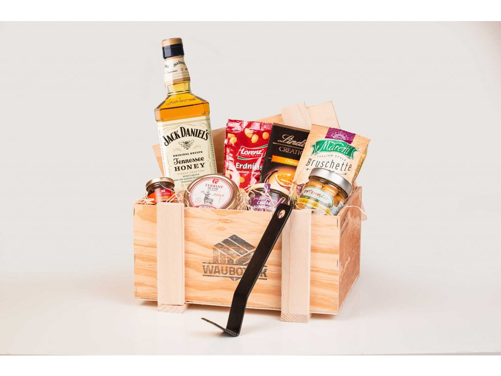 darcekova debna whisky jack daniels honey