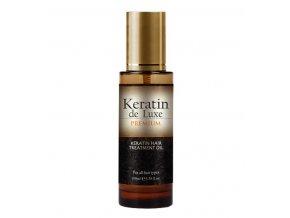 Keratin de Luxe 100ml. keratínový olej na vlasy