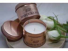 Marocká bohyně - vonná sójová svíčka