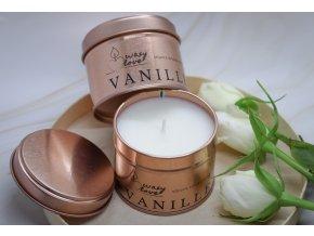 Vanille - vonná sójová svíčka