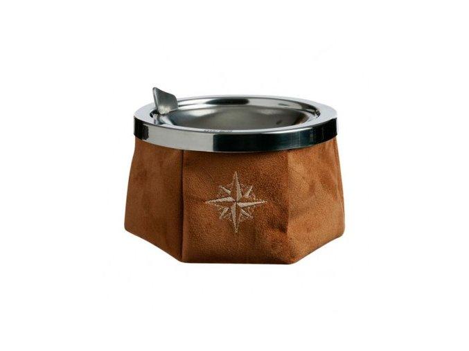 30111 ashtray suede camel popielniczka marynistyczna