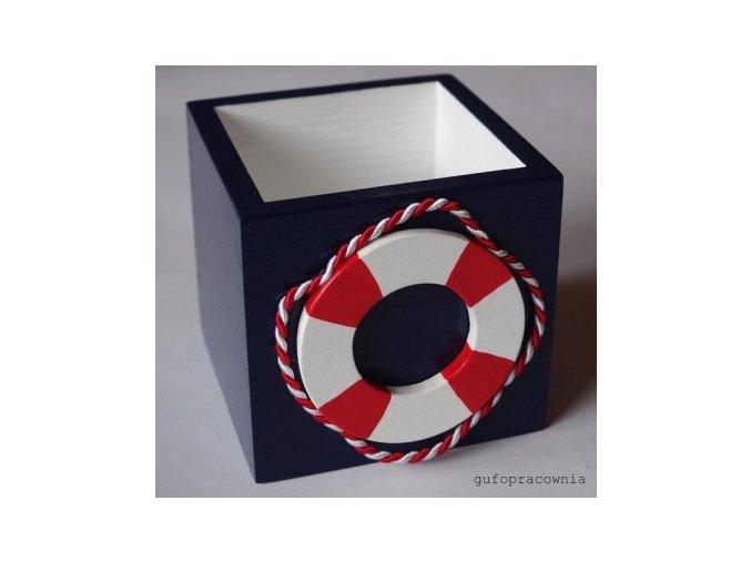 krabicka modra kruh