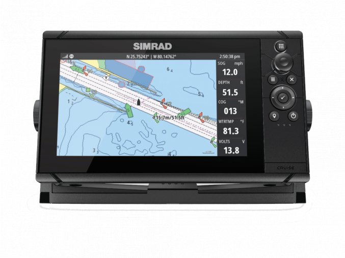 Simrad Cruise 9 Front Facing Chart 34894