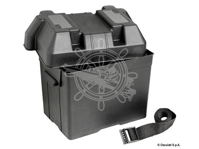 Schránka na akumulátor 265x175x205 mm, max. 95 A