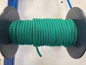Lano PPV zelené 8 mm - 12 mm