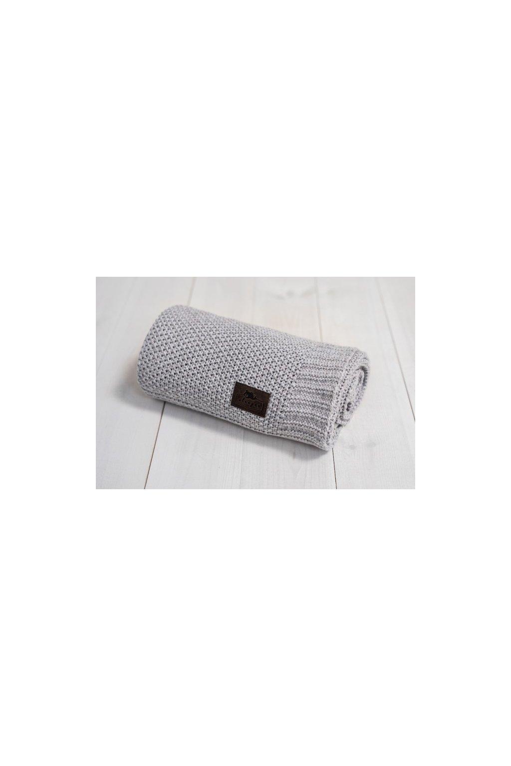 Bambusová deka Sleepee Bamboo Touch Blanket šedá