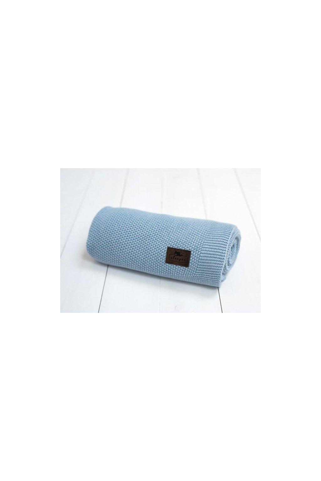Bambusová deka Sleepee Bamboo Touch Blanket modrá