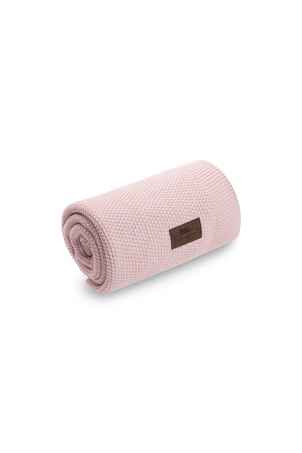 Bambusová deka Sleepee Bamboo Touch Blanket růžová