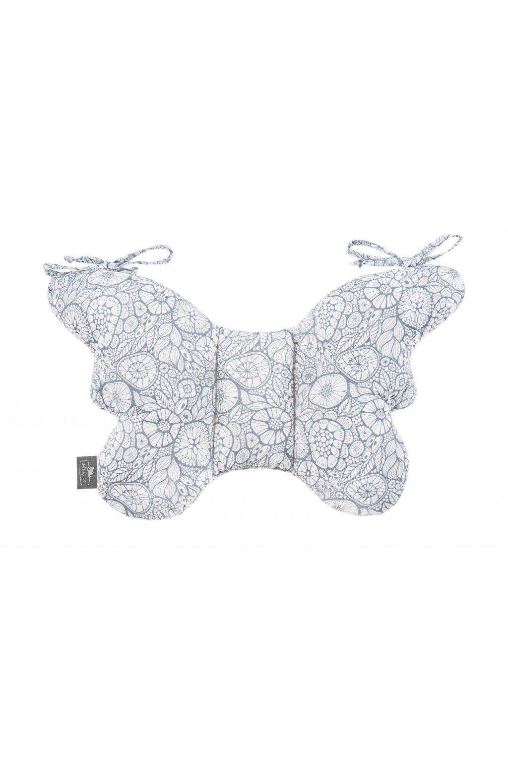 Stabilizační polštářek Sleepee Butterfly pillow šedá