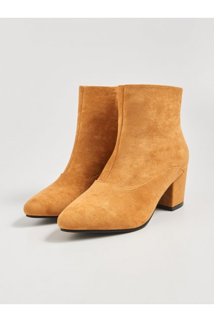 hnede damske kotnikove boty 1