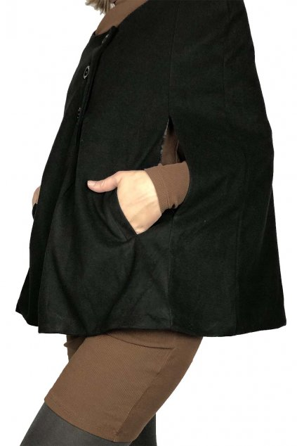 nahled damsky modni kabat ve stylu poncha 1