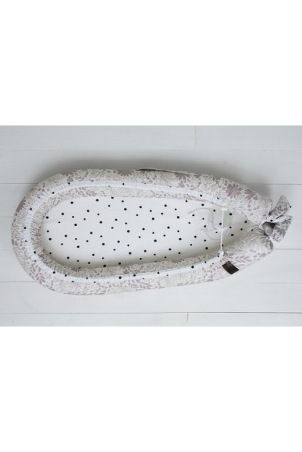 Hnízdečko pro miminko Sleepee Newborn Feel ruměncová