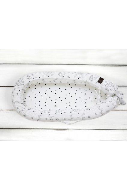 Hnízdečko pro miminko Sleepee Newborn Feel luční kvítí
