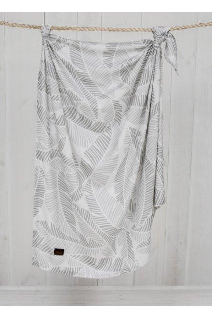 Bambusová deka Sleepee Bamboo 3 v 1 palmy