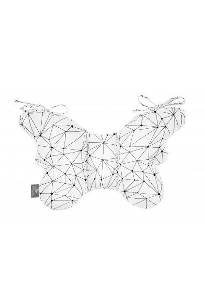 Stabilizační polštářek Sleepee Butterfly pillow čárky
