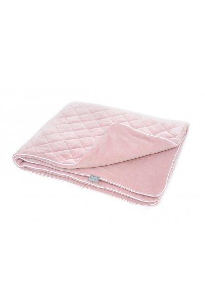 Sametová deka Sleepee Royal Baby růžová