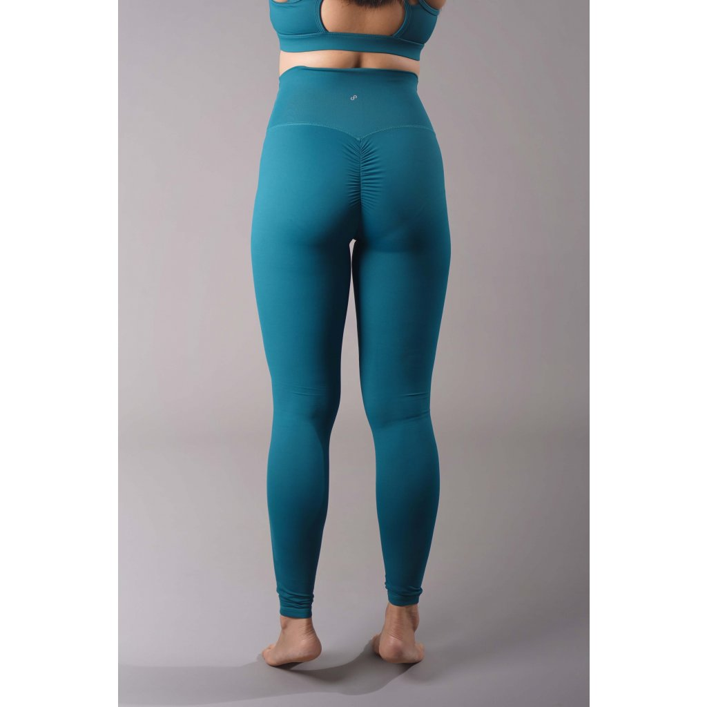 Scrunch Butt Leggings, Deep Sea