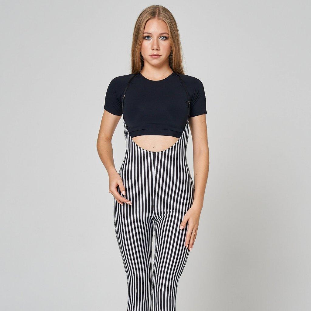 Sling Leggings, Stripes