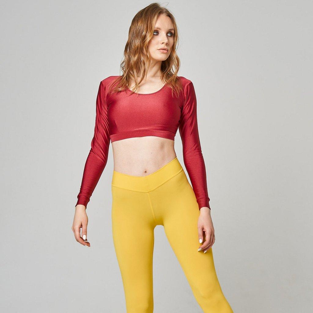 Basic Leggings, Yellow