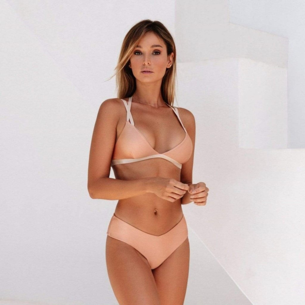 Saintly Top, Rose Gold