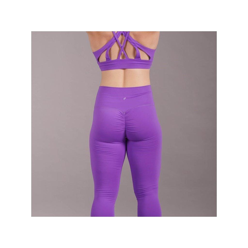 Scrunch Butt Leggings, Purple