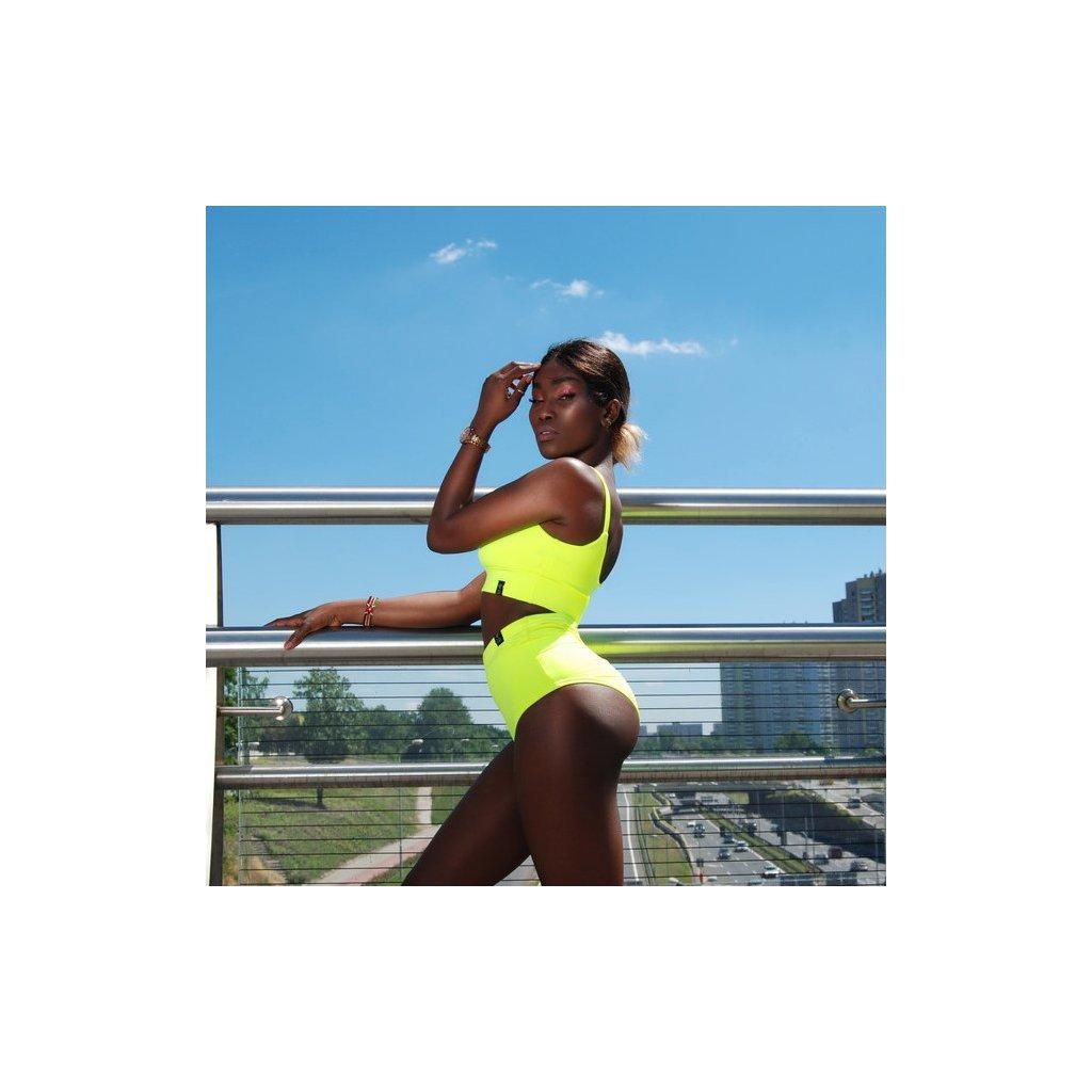 High Waisted Shorts, Neon