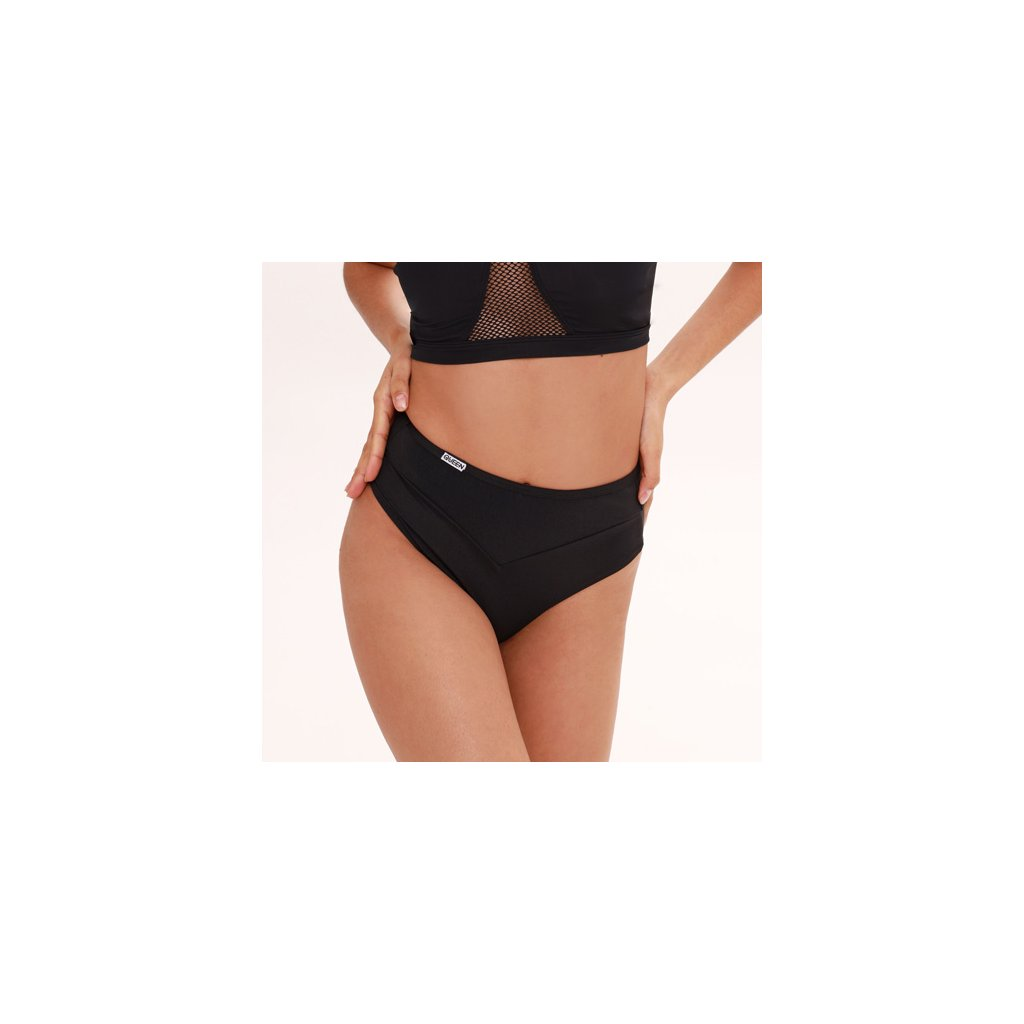 Clothes for pole dance shorts Classic Black brand Queen Wear