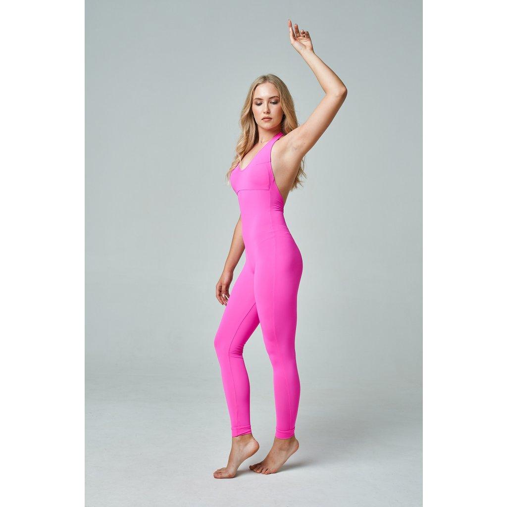 Ninja jumpsuit, Pink