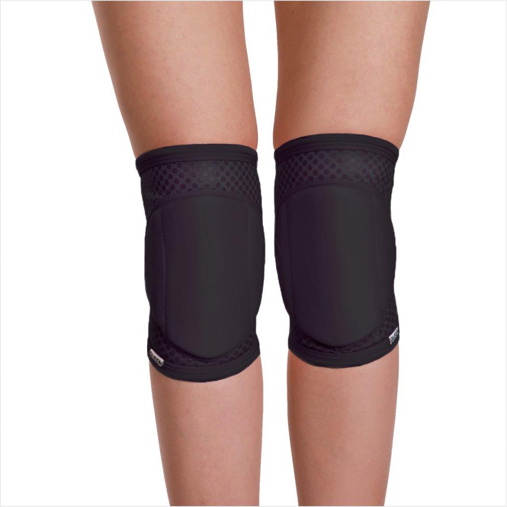 Knee pads, Sleek Black Grip