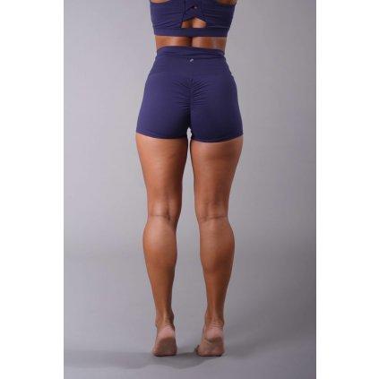 Scrunch Butt Shorts, Navy