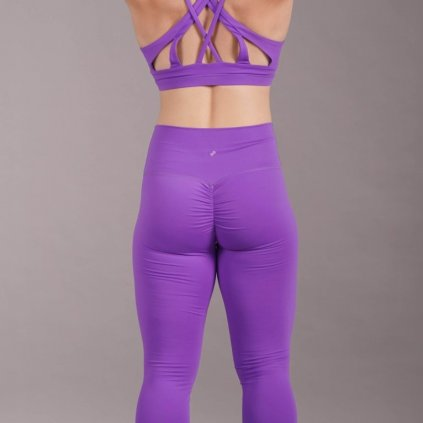 Scrunch Butt Leggings, Purple