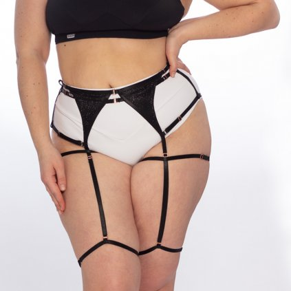 queen Garter belt for knee pads 1 2