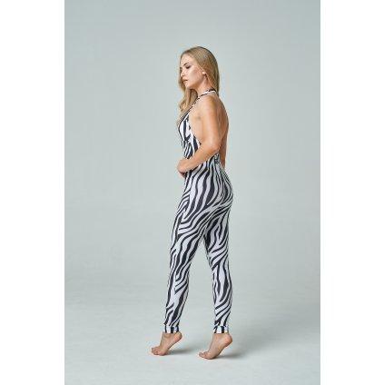 Ninja jumpsuit, Zebra