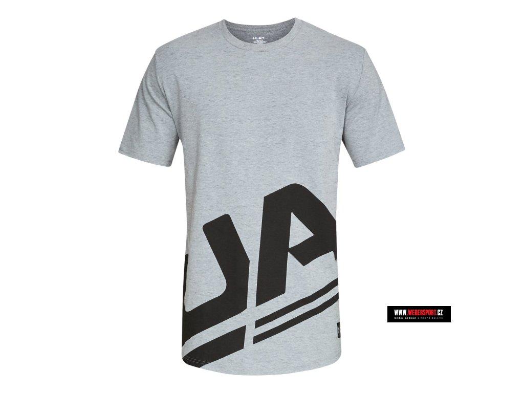 Pánské tričko UNDER ARMOUR SPORTSTYLE BRANDED - Webersport e9cf9b87ddc