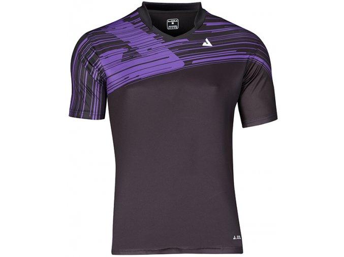 96351 Trigon Shirt black purple