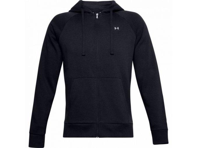 panska mikina under armour rival fleece fz hoodie 1357111 001 original