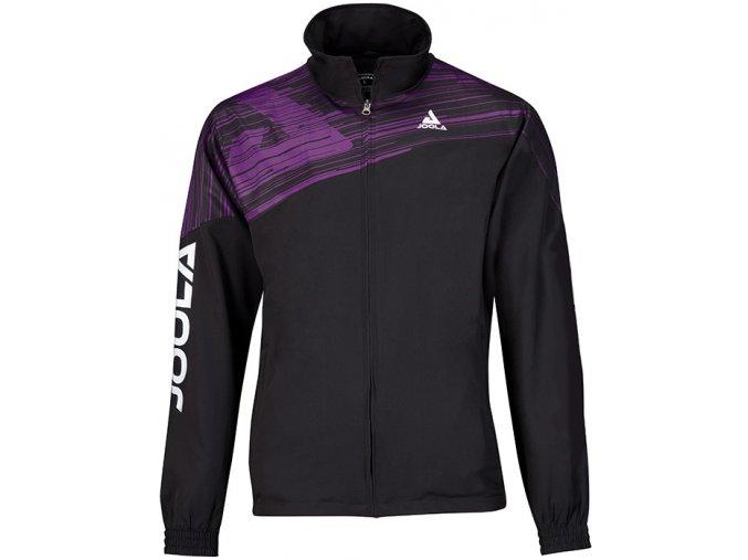 96700 Jacket Trigon black purple