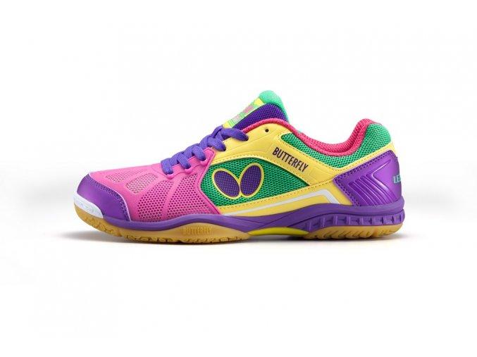 shoes RIFONES magenta side