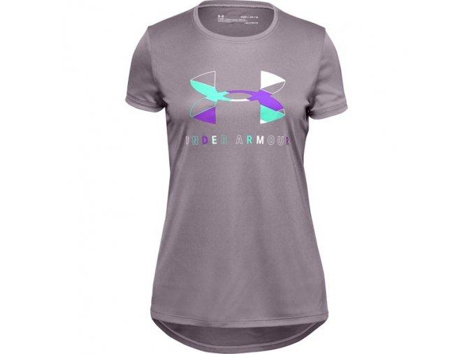 Dětské Tričko Under Armour Tech Graphic Big Logo SS T-Shirt