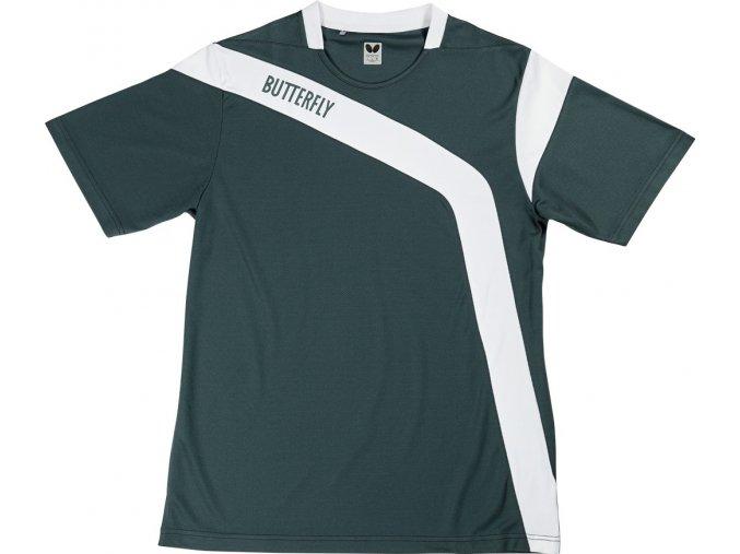 butterfly textil shirt yasu grau