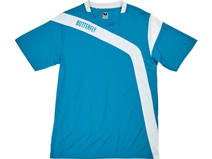 butterfly textil shirt yasu blau